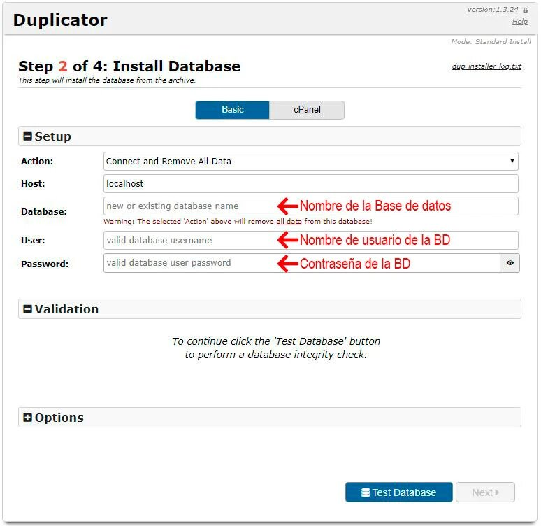 instalar duplicator wordpress migration plugin|